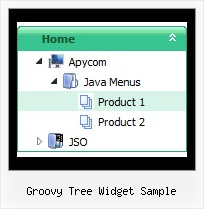 Groovy Tree Widget Sample Html Menu Scripts Jscript Tree
