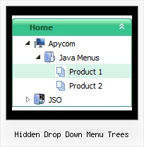 Hidden Drop Down Menu Trees Css Tree Examples