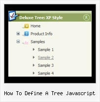 How To Define A Tree Javascript Tree Menus Tree