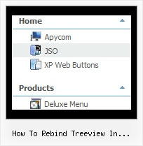 How To Rebind Treeview In Javascript Dynamic Tree Menu Html