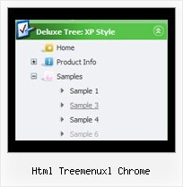 Html Treemenuxl Chrome Menu En Tree View