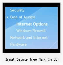 Input Deluxe Tree Menu In Vb Slide Tree Menu