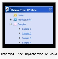 Interval Tree Implementation Java Tree Menu Netscape