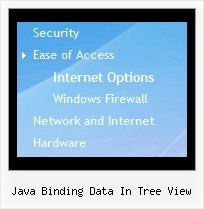 Java Binding Data In Tree View Page Scroll Tree