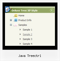 Java Treectrl Menu List Tree