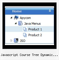 Javascript Course Tree Dynamic Outline Javascript Tree Examples