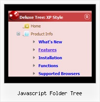 Javascript Folder Tree Samples Of Tree Navigation