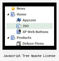 Javascript Tree Apache License Tree For Dynamic Drop Down