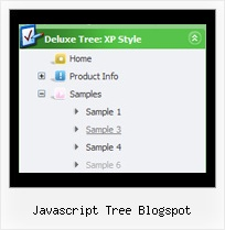 Javascript Tree Blogspot Tree Windows Interface