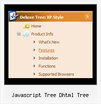 Javascript Tree Dhtml Tree Tree Drop Menu Mouseover