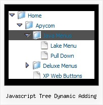 Javascript Tree Dynamic Adding Tree View Example