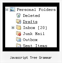Javascript Tree Grammar Tree Menu Rollover