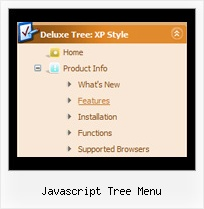 Javascript Tree Menu Tree Dynamically Create Dropdown