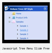 Javascript Tree Menu Slide Free Tree View Drop Down Menus