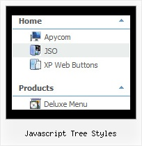 Javascript Tree Styles Menu Tree Across Frames