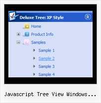 Javascript Tree View Windows Explorer Like Menu Tree Drag Item