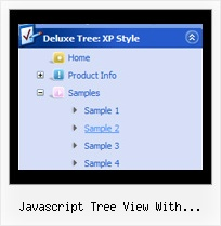Javascript Tree View With Pagination Sliding Images Tree
