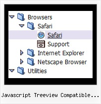 Javascript Treeview Compatible Ajax Tree Onmouseover Style