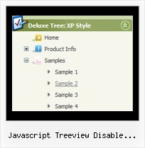 Javascript Treeview Disable Autopostback Select Node Top Navigation Tree