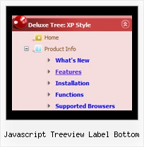 Javascript Treeview Label Bottom Tree Popup Position