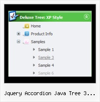 Jquery Accordion Java Tree 3 Levels Tree Pop Up Menu Examples