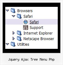 Jquery Ajax Tree Menu Php Tree Examples Mouseover Tree Menu