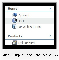 Jquery Simple Tree Onmouseover Error Tree Menu On Mouse Over
