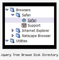 Jquery Tree Browse Disk Directory Javascript Xp Tree Menu