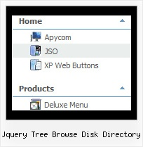 Jquery Tree Browse Disk Directory Horizontal Dropdown Menu Tree