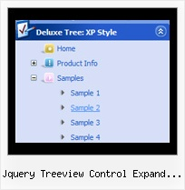 Jquery Treeview Control Expand Method Tree Movable Menu
