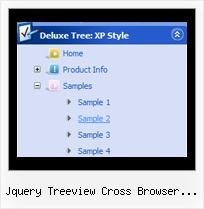 Jquery Treeview Cross Browser Specific Tree Navigation Menu