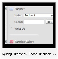Jquery Treeview Cross Browser Specific Tree Horizontal Slide Bar