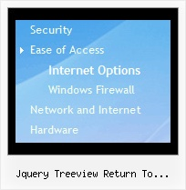 Jquery Treeview Return To Original State Tree Mouseover Cascading Menu