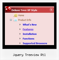 Jquery Treeview Rtl Tree Drop Down Menu Fade
