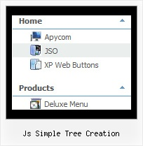 Js Simple Tree Creation Samples Of Tree Navigation
