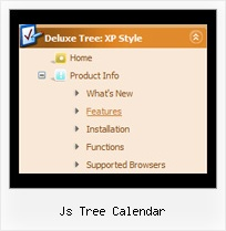 Js Tree Calendar Tree How Select