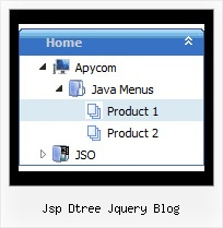 Jsp Dtree Jquery Blog Tree Folding Menu