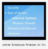 Jstree Extension Problem In Yii Tree Menus Code