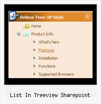 List In Treeview Sharepoint Tree Dynamic List