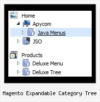 Magento Expandable Category Tree Tree Menu Tutorial Dhtml