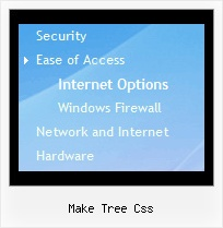 Make Tree Css Tree Drop Menu Mouseover