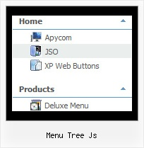 Menu Tree Js Css Tree Dropdown Menu