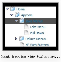 Obout Treeview Hide Evaluation Message Examples Of Tree Onmouseover