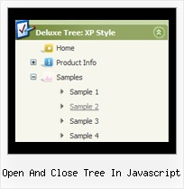 Open And Close Tree In Javascript Popupmenu Javascript Tree
