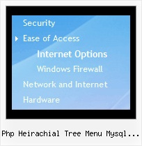 Php Heirachial Tree Menu Mysql Prototype Menu Tree Simple