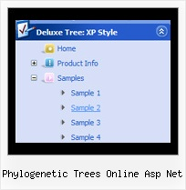 Phylogenetic Trees Online Asp Net Tree Menus Example With Codes