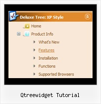 Qtreewidget Tutorial Tree Dropdown Menu Image
