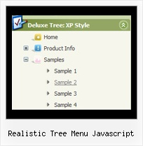 Realistic Tree Menu Javascript Tree Rollover Menus Expanding