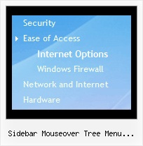 Sidebar Mouseover Tree Menu Effect Wordpress Cascading Tree Menu