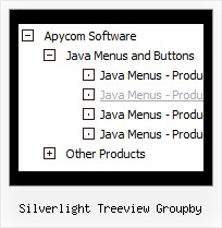 Silverlight Treeview Groupby Topmenu Tree Download
